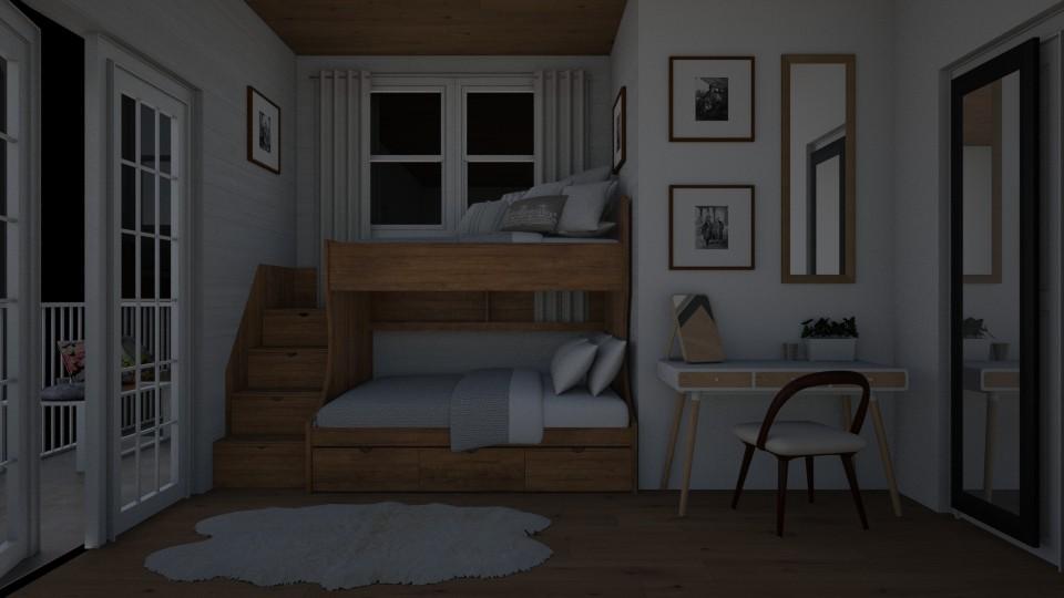 bunkbed room - Bedroom - by emmaald