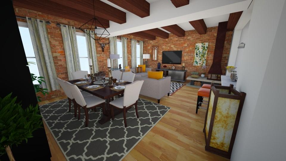 62 Beach St NY - Living room - by sally89