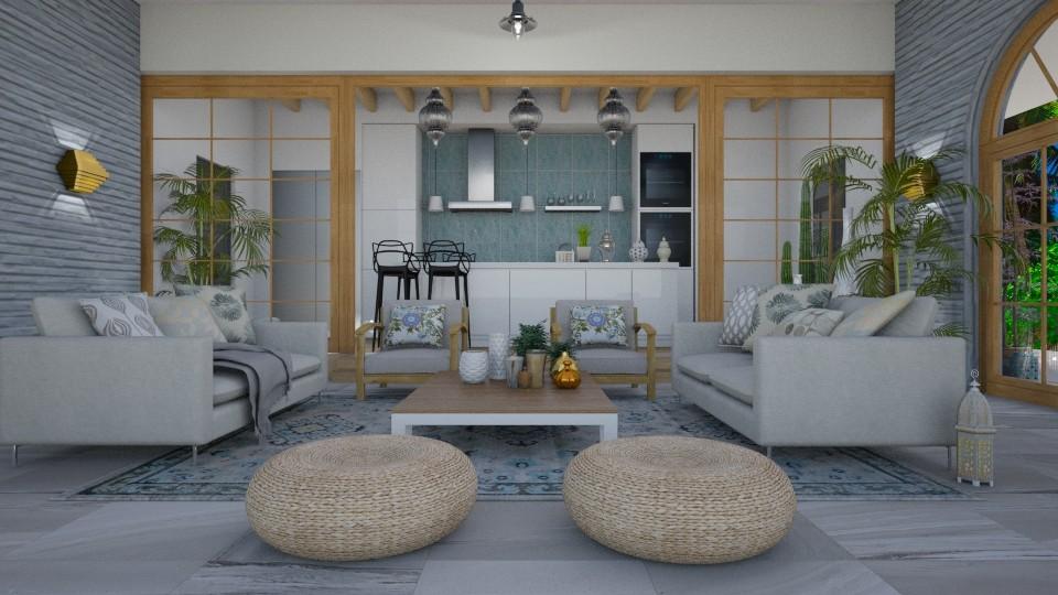 argento - Living room - by svetlysveva