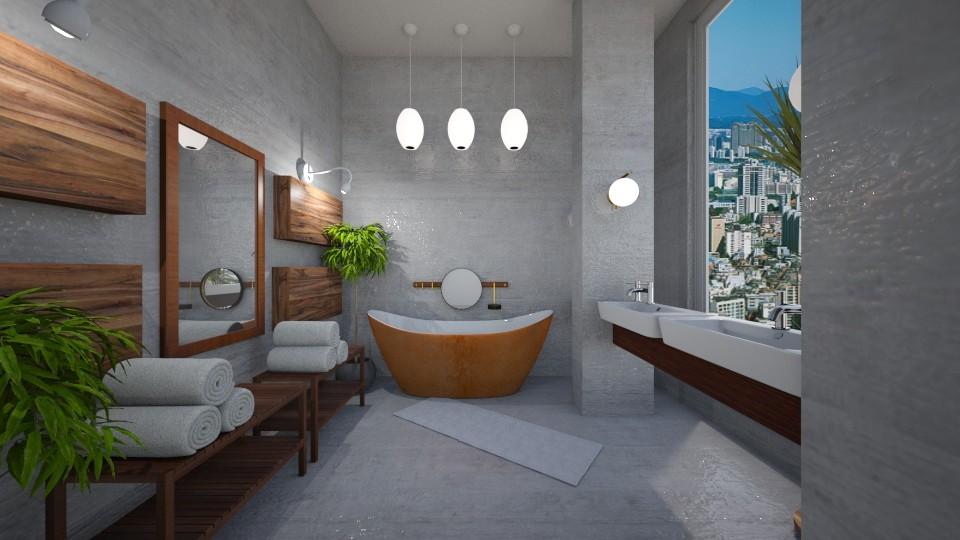 conte - Bathroom  - by crz