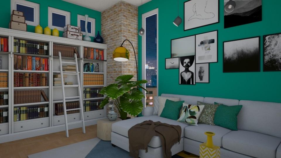 300918 - Living room  - by Amairany Peralta