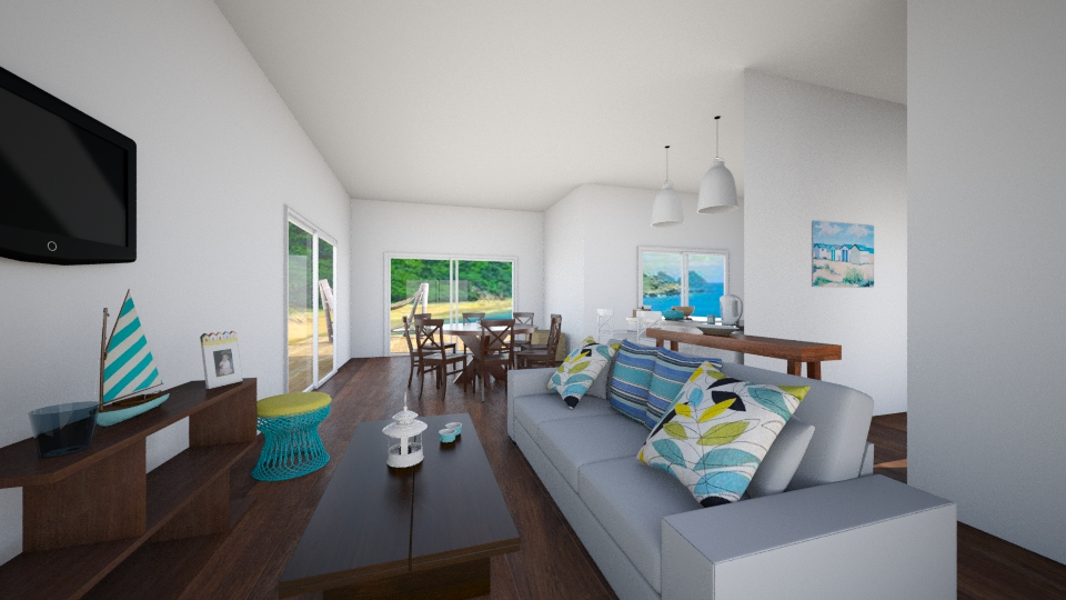 Living Tropical - Living room - by Gi Pires P