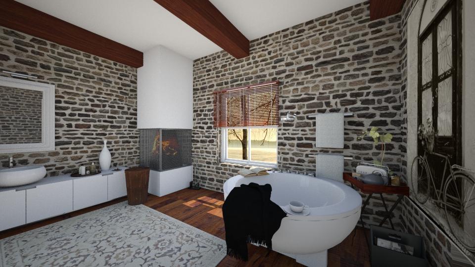virtual bathroom - Minimal - Bathroom - by nephelou