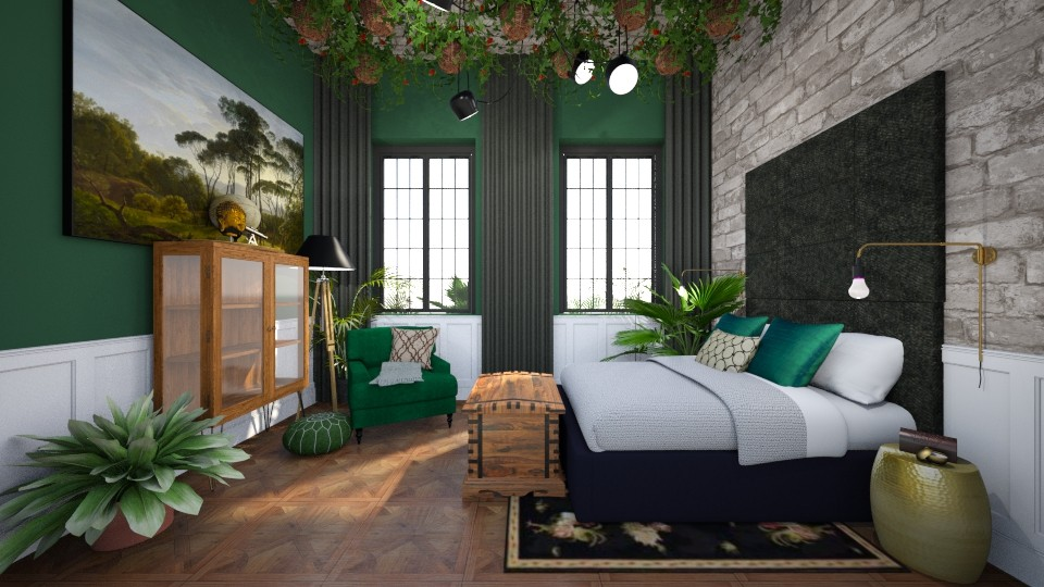 Sleeping in the jungle - Eclectic - Bedroom - by ovchicha