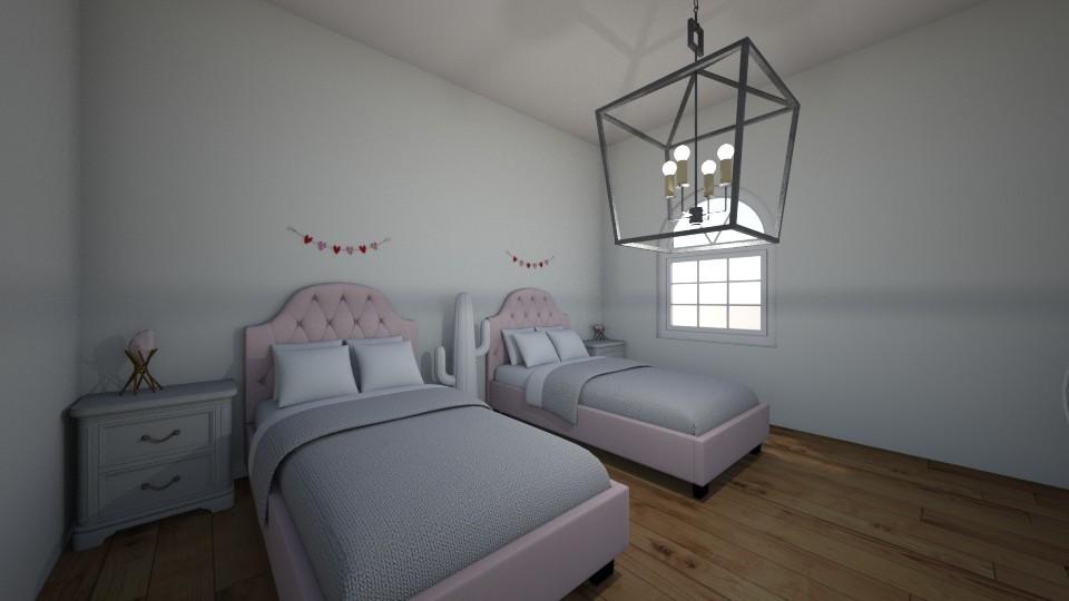 twin room - Feminine - Living room - by Louxx19