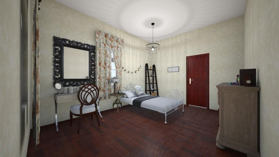 Vintage Bedroom - Bedroom - by Cheyenne Stephenson_339