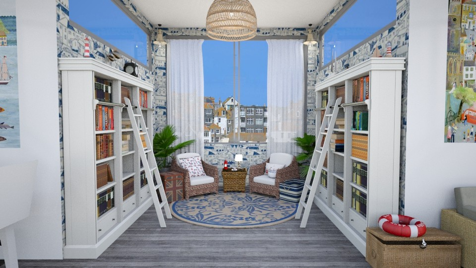 st ives 2 - Eclectic - Living room  - by annator