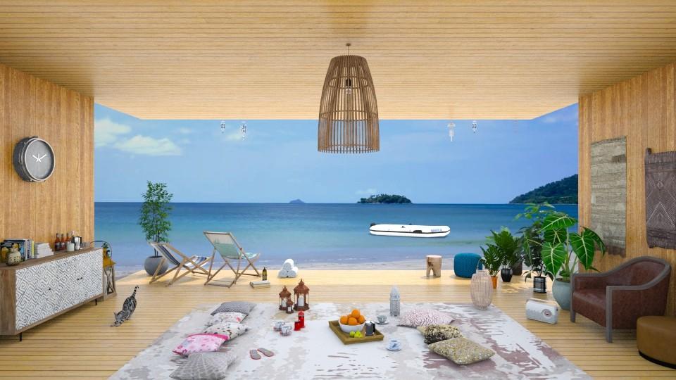 Coastal Living - Living room - by RHD