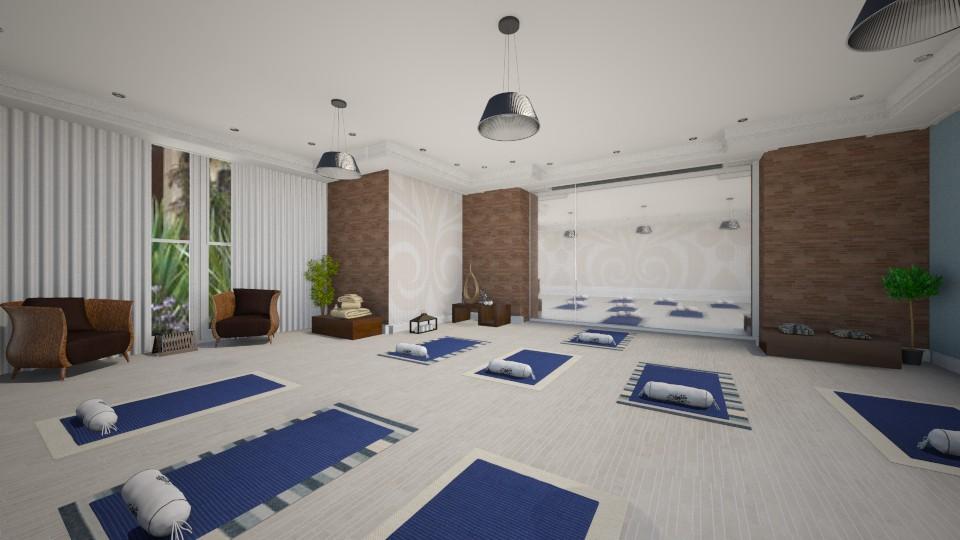 Yoga - by Luana  Oliveira