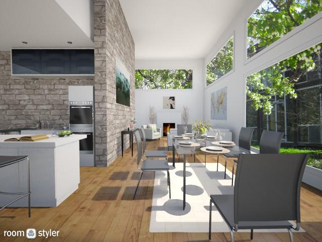 Modern Kitchen - Kitchen - by Natalie T