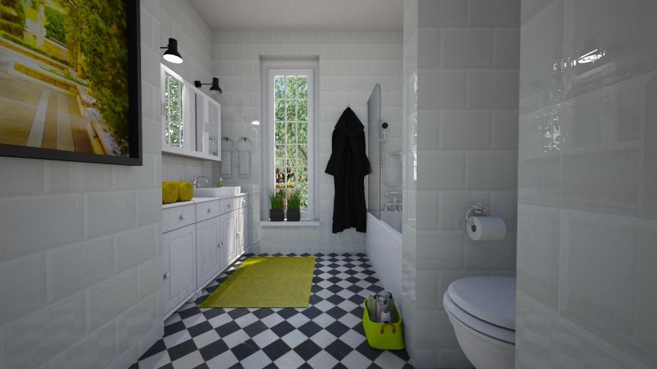 Green effects - Bathroom - by Tuija