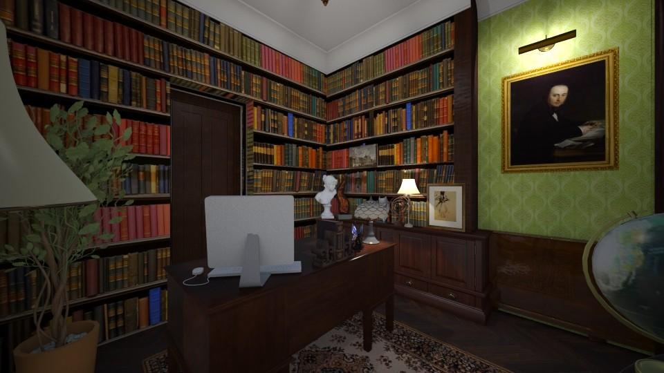 Bureau v4a - Classic - Living room - by Lu Do