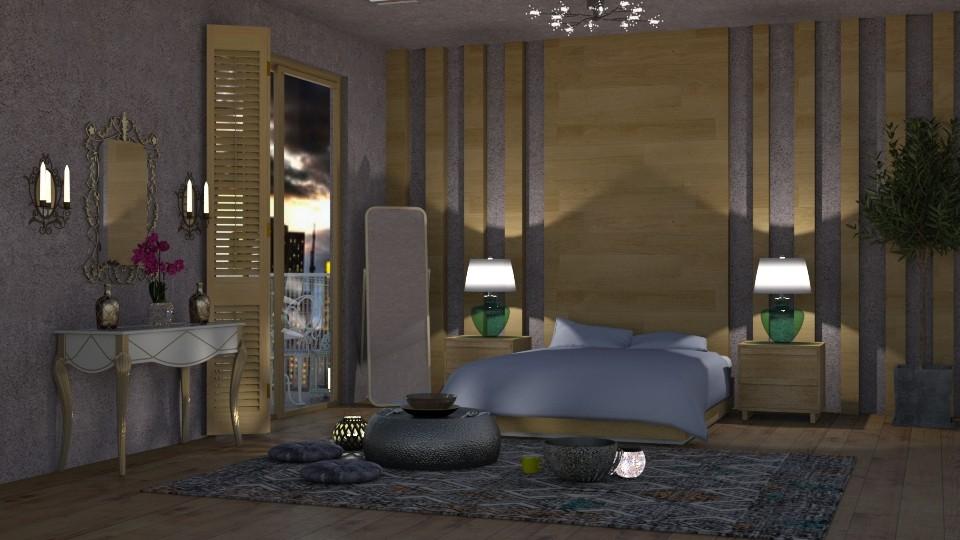 luxus bedroom - by maheen ahsan