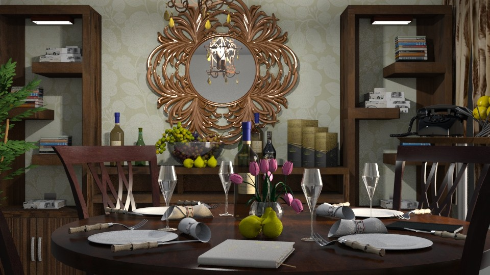 dining room - by ilcsi1860