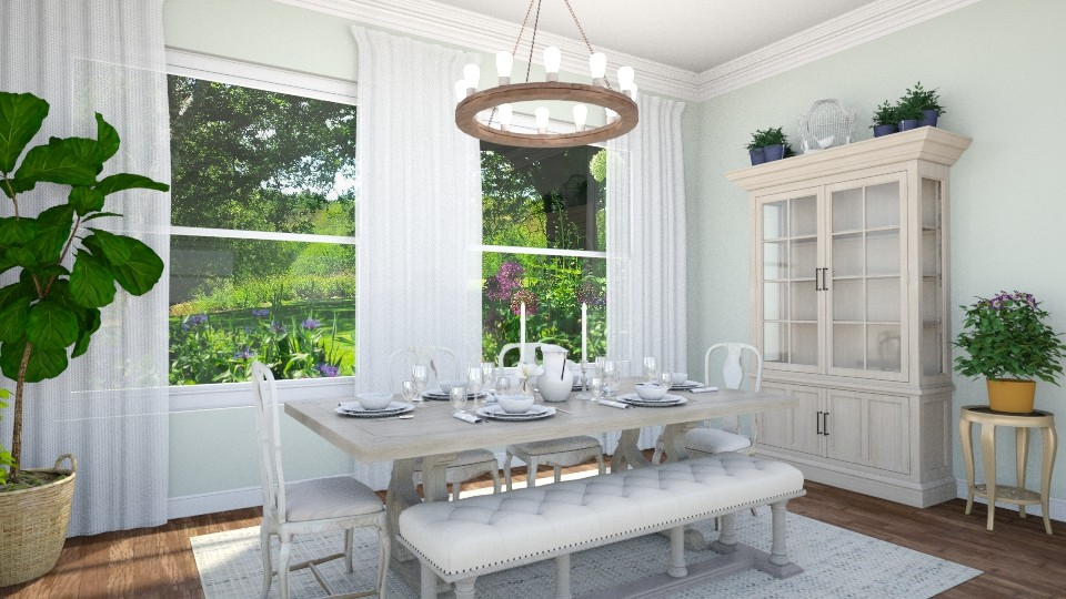 French Country Dining - Dining room - by smunro7