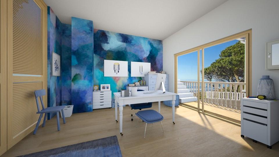 abstract office - Modern - Office - by ilikalle