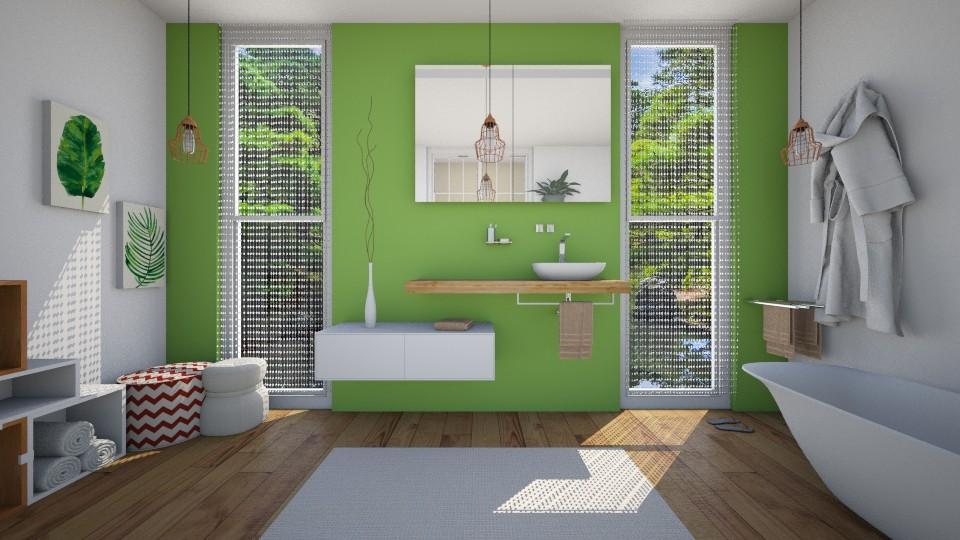 relaxing bath - Bathroom - by Sali15