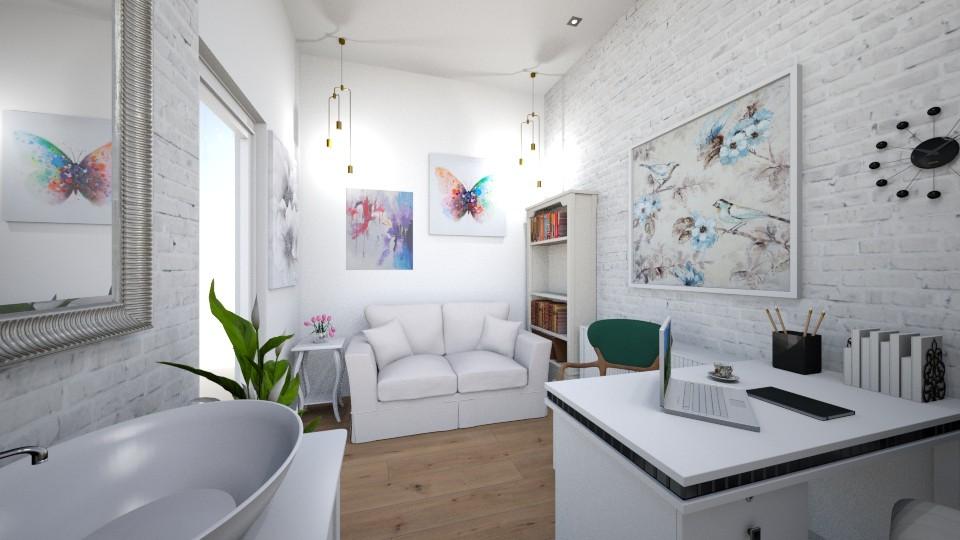 birou nou6 v2 - Office - by TMMagda