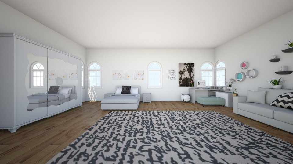 Paris - Bedroom - by Deni star