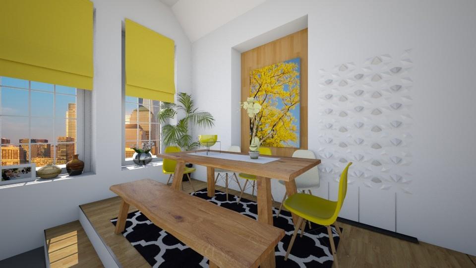 Modern dining - Modern - Dining room  - by christoforos