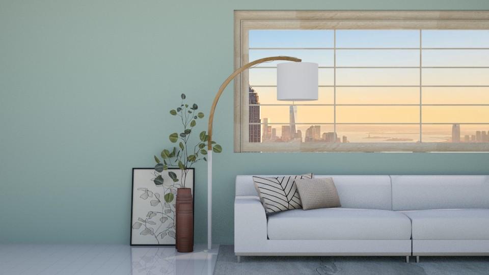 Minimal_Living - Minimal - Living room - by helsewhi