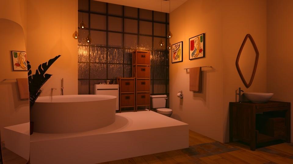 Rose Bathroom - Bathroom  - by Kendal Peterson