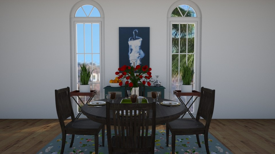 dining room - Classic - Dining room - by Jessica Evelyn