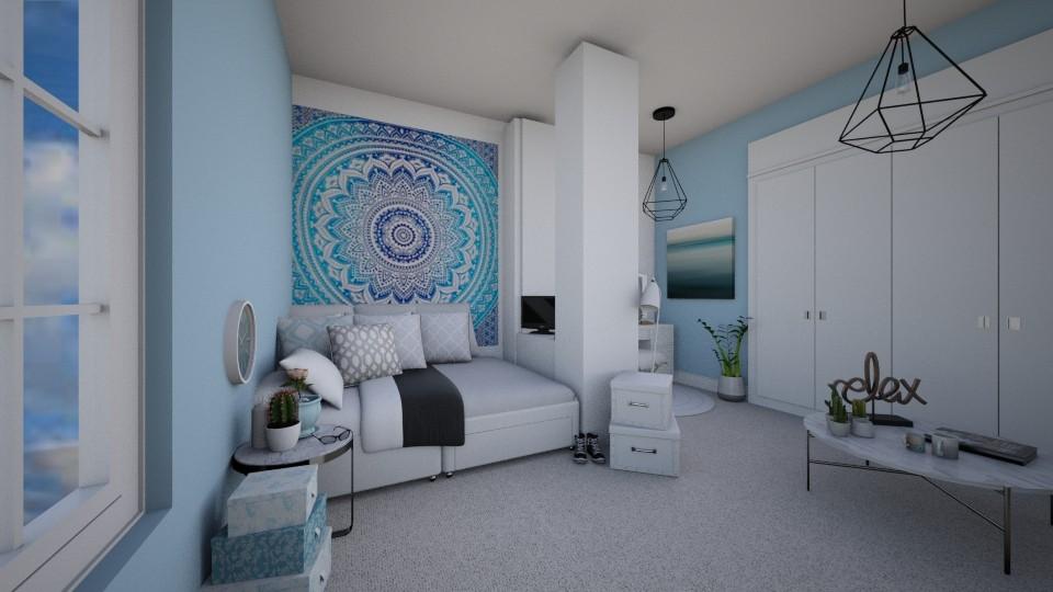 Bedroom Getaway - Feminine - Bedroom  - by CasuallyCrystalClear