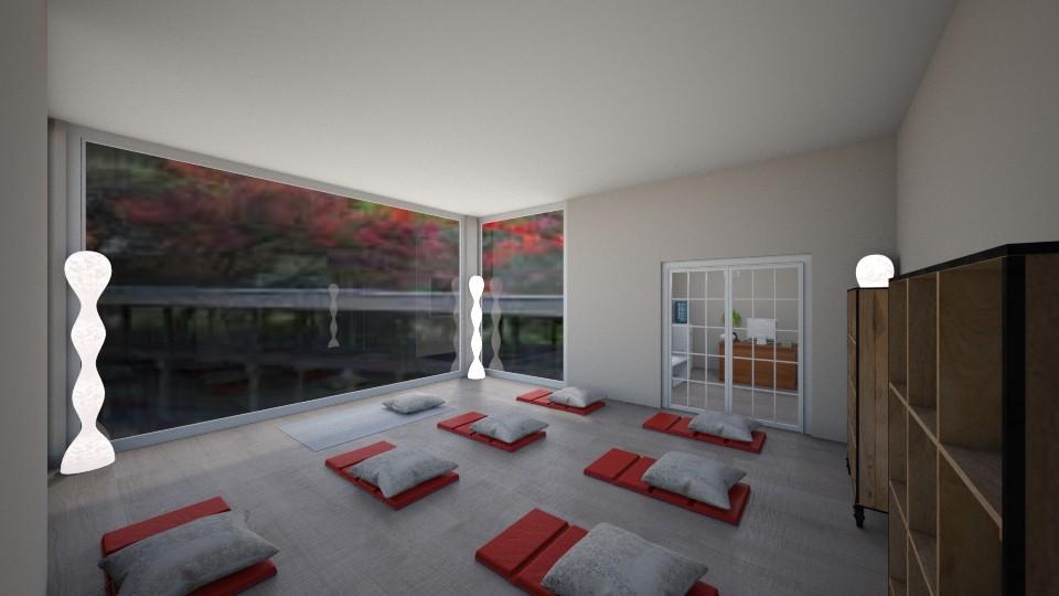 maria yoga studio - by lupitaa315