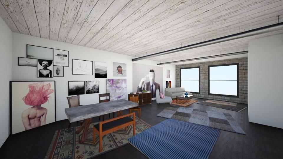Loft - Modern - by hannahcatherine