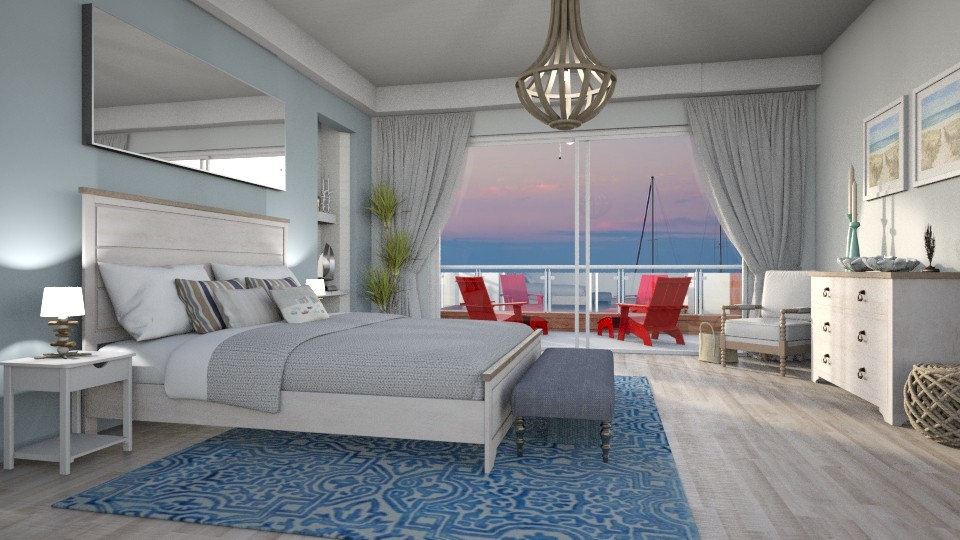 Sailors bedroom - Bedroom - by smunro7