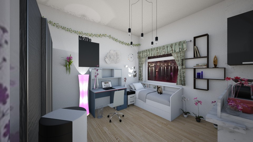 Apartemen5 - Bedroom - by Yuki Cu
