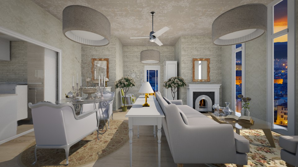 French Inspired - Living room - by xx_cordelia_xx
