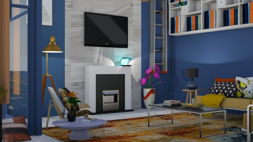 Tangy Drama - Living room - by timeandplace