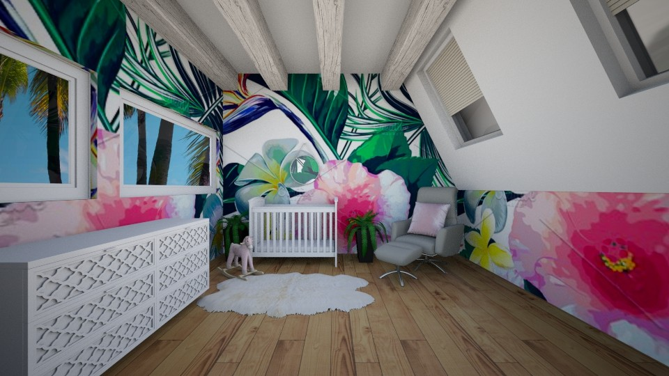 Girls Nursery - by SKS419