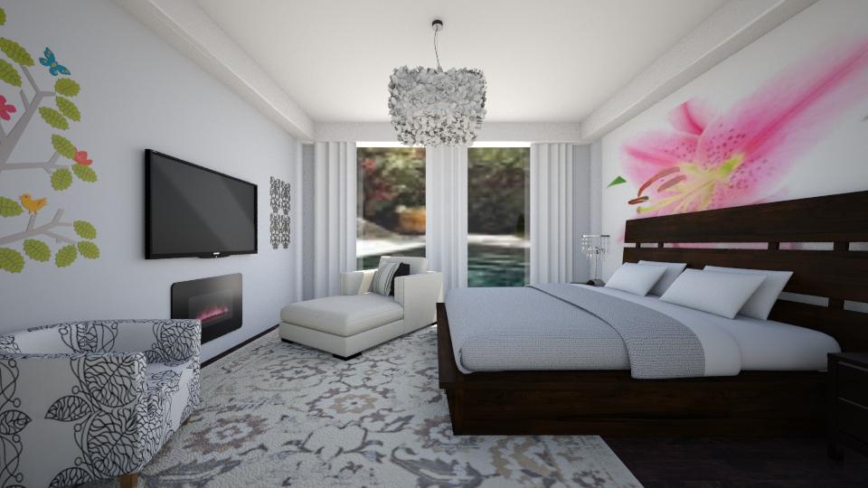 quarto de visitas moderno - Bedroom - by Tininha oliveira