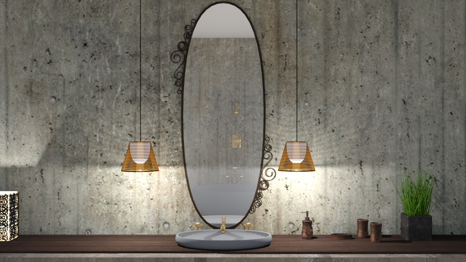 Lux bathroom - by Mihailovikj Mimi