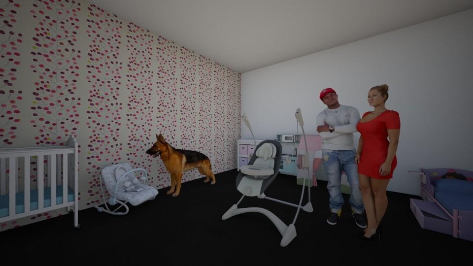 IslaHarlowgirlbedroom - Kids room - by Islaj