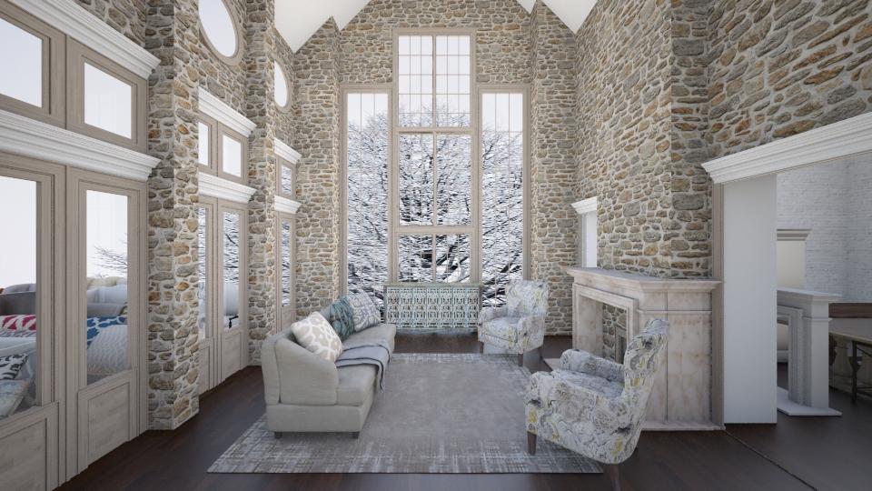 winter coiiage - by Connie Davis