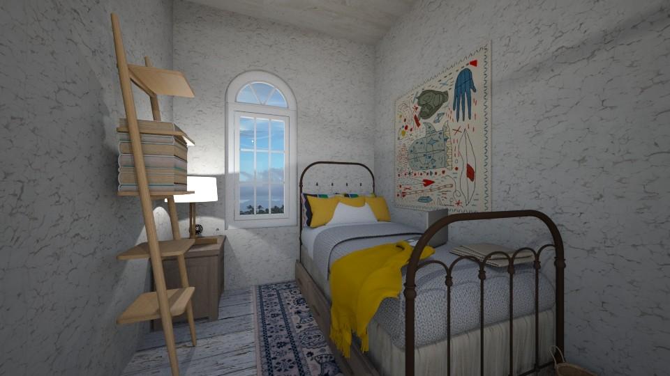 dorm - Bedroom - by gretchen2005