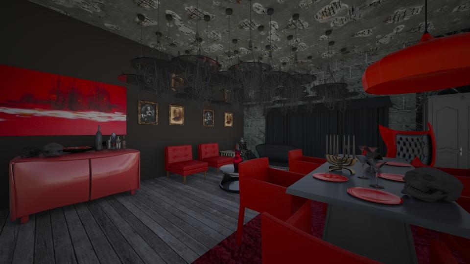 True Blood - Modern - Dining room - by Calolynn