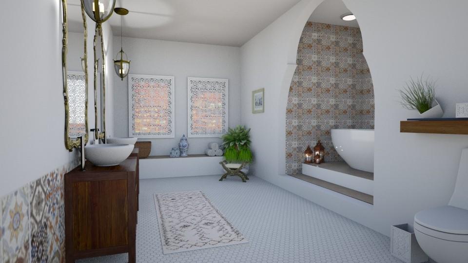 bathroom 3 - Bathroom  - by elhamsal24