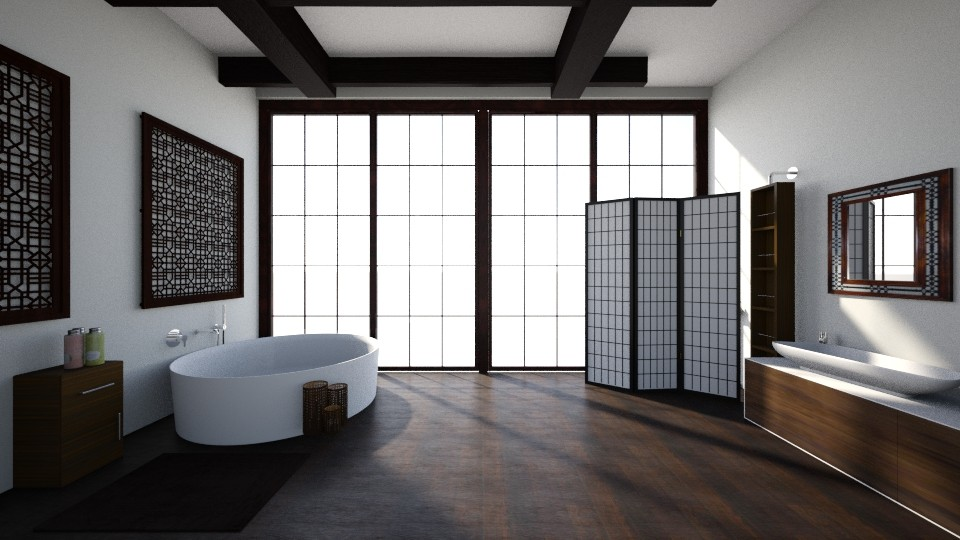 Japanese bathroom - Minimal - Bathroom - by kristianvalchev