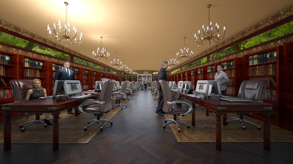 Maharani Office - by shahr