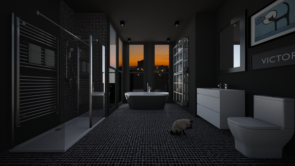 Personal Urbano  - Bathroom - by Sanare Sousa