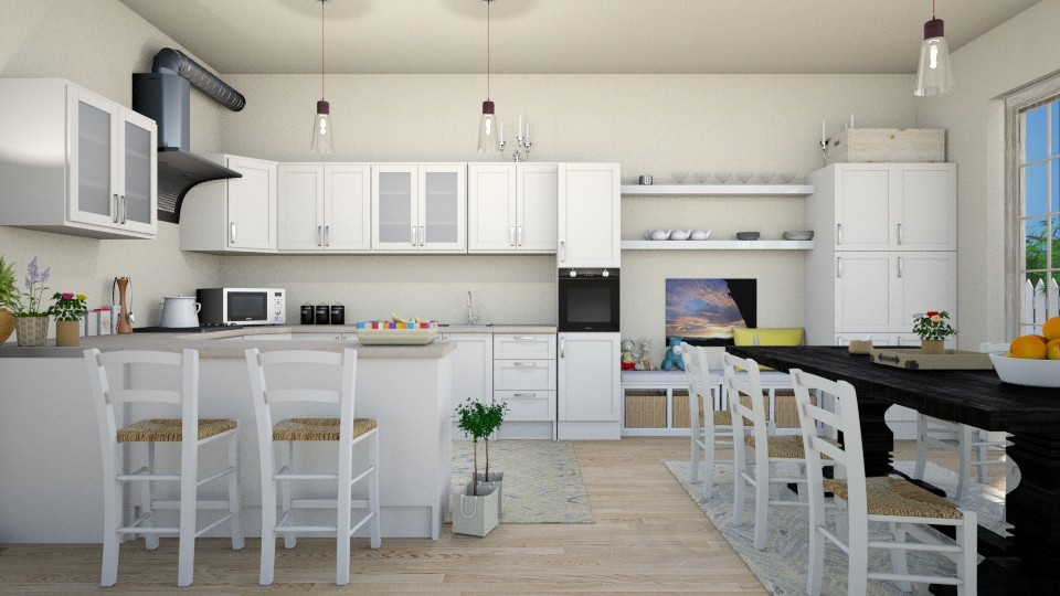 kitchen family for 5 - Kitchen - by kiregl