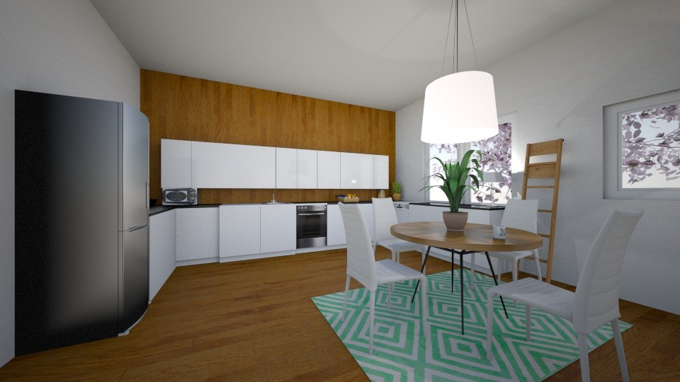 Scandinavian Kitchen - Kitchen - by imgoodatusernames
