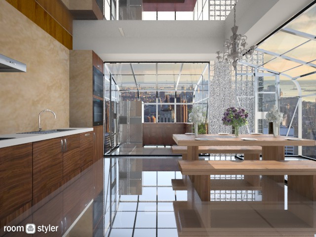 Room 3 - Kitchen - by xx_cordelia_xx