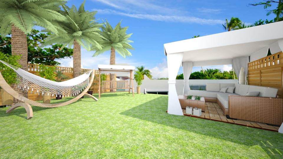 Modern garden  - Modern - Garden - by evelyn19