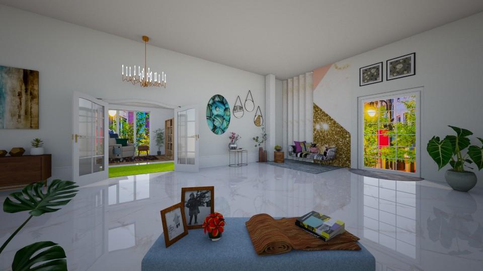 Modern Living - Modern - Living room - by Art_Decoration